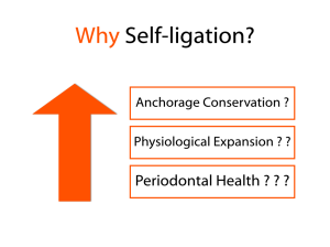Proposed Advantages of Self-Ligation.